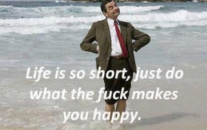 Mr Bean Happy