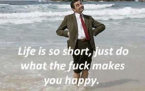 Mr Bean Happy