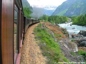 utsikt fra tog